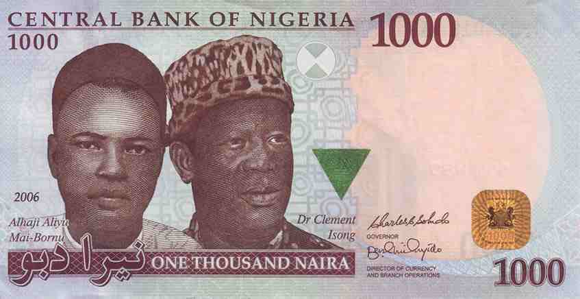 One Thousand Naira Convert Us Dollars To