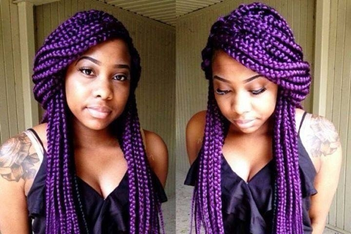 Nigerian Men Love To See Braids On Their Women Because It Always Looks Nice Especially When Newly Made Are A Combination Of Ancient And
