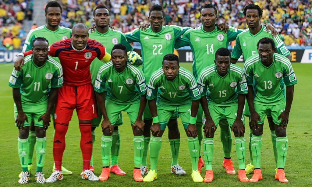 Nigeria World Cup team