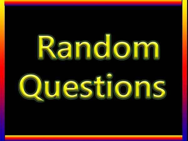 random questions to ask somebody