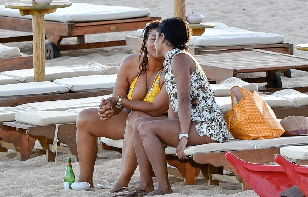 popsugar.com - Queen Latifah Gay, Queen Latifah Girlfriend