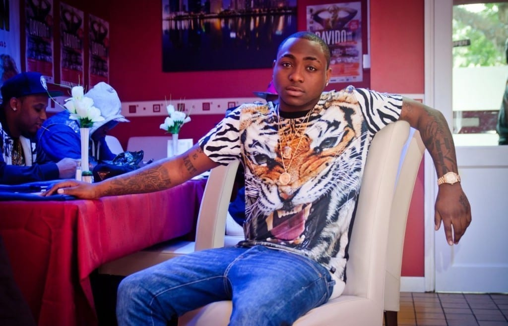 davido tattoo