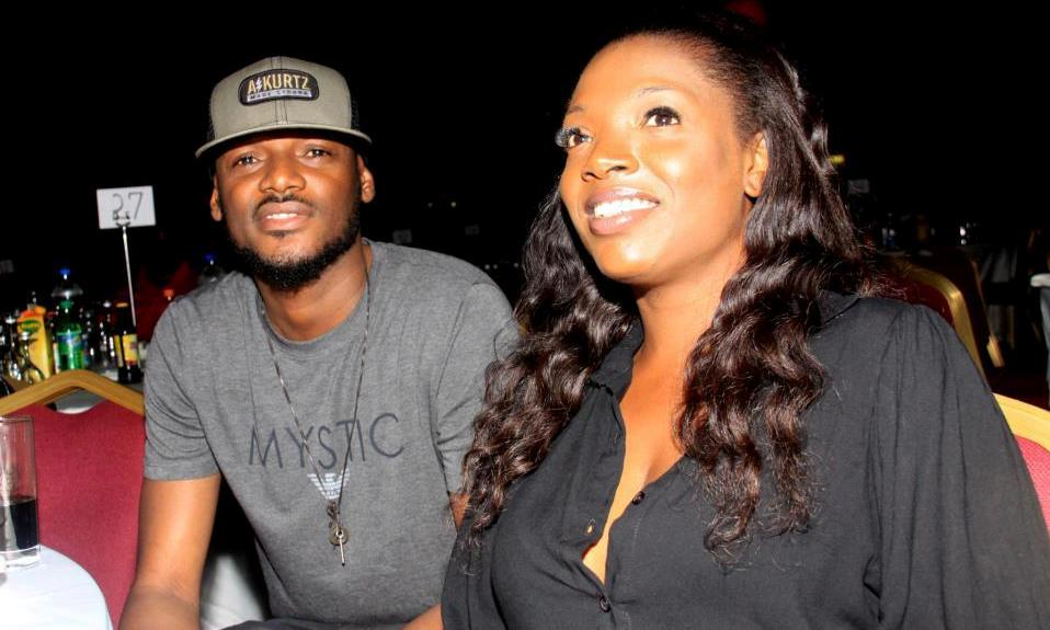 Tuface and wife, Annie Idibia