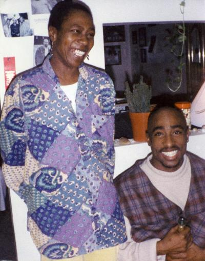 tupac and mother in 2003 documentary