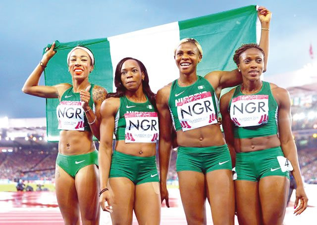 Nigerian-athletes