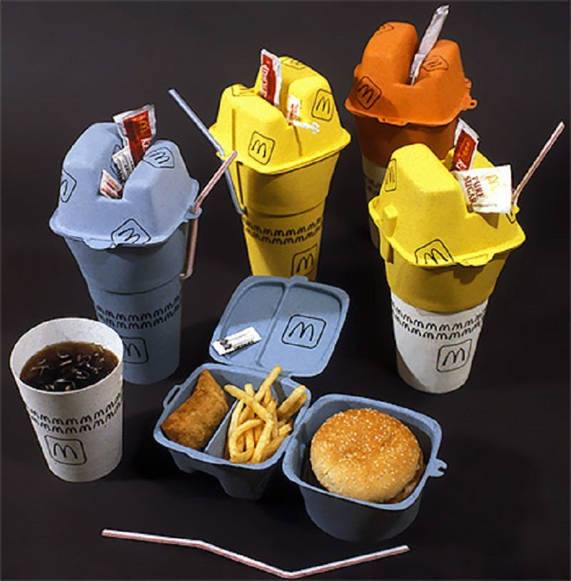 Fast Food Contains Chemicals