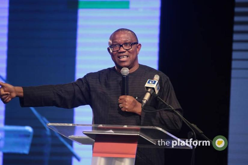 Peter Obi Shocks