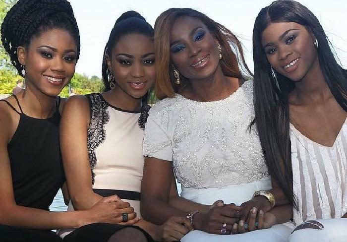 Yemisi and her three daughters